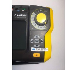Chauvin Arnoux CA 6116N - sdružený revízní přístroj