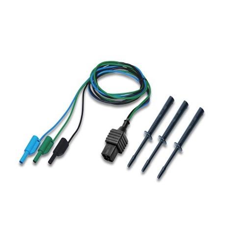 Metrel S 1112 - Měříci kabel 3x1,5 m + 3 měříci hroty