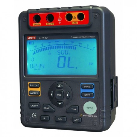UNI-T UT512 - měřič izolačního odporu