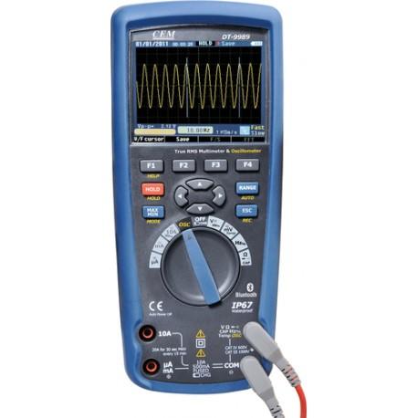 CEM DT-9989 - multimetr s osciloskopem