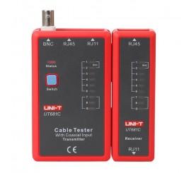 UNI-T UT681C (RJ45, RJ11, BNC) - tester kabelů