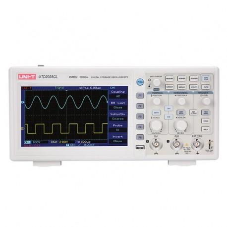 UNI-T UTD2025CL - osciloskop