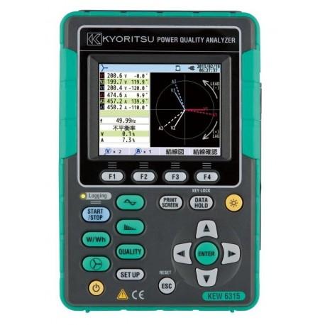 Kyoritsu KEW 6315 - analyzátor kvality sítě