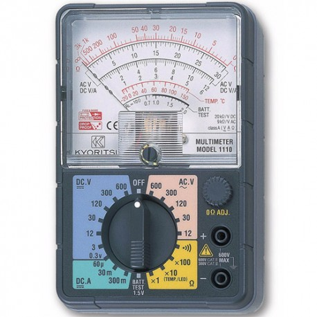 Kyoritsu KEW 1110 - analogový multimetr