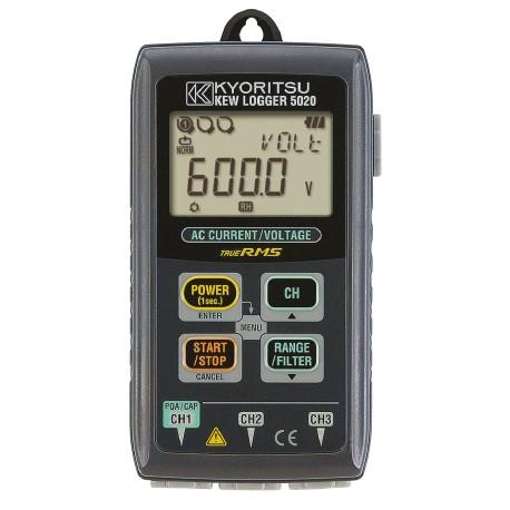 Kyoritsu KEW 5020 - Záznamník  proudů a napětí bez napěťové sondy