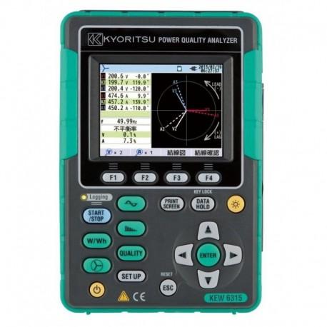 Kyoritsu KEW 6315-03 - analyzátor kvality a výkonu