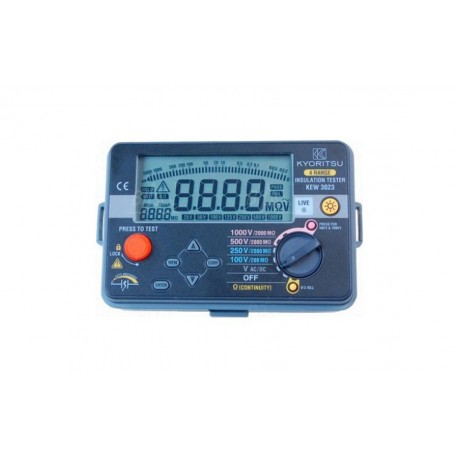 Kyoritsu KEW 3023 - Měřič izolace a spojitosti