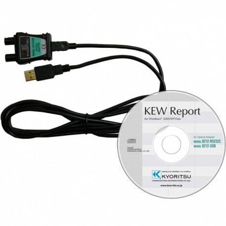 Kyoritsu KEW 8212-USB - adaptér