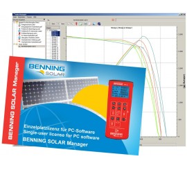 Benning SOLAR manager software