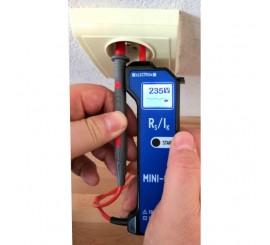 Electron Mini-02 - měřič impedance smyčky
