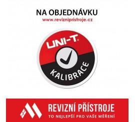 Kalibrace - Uni-T UT210E
