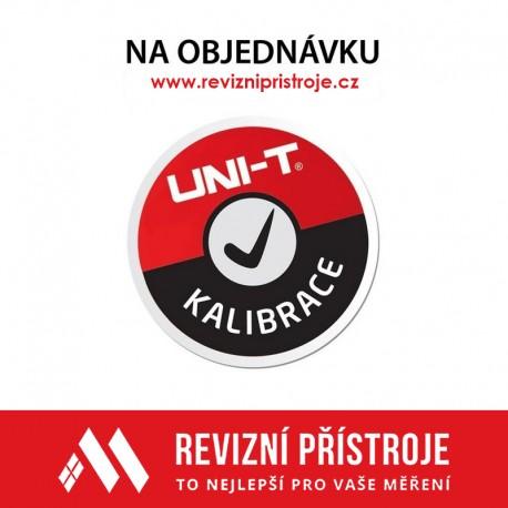 Kalibrace - Uni-T UT278A
