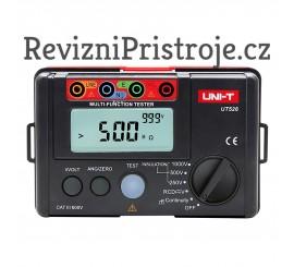 UNI-T UT526 - měřič izolačního odporu