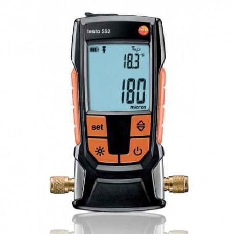 Testo 552 - digitální vakuometr s Bluetooth®