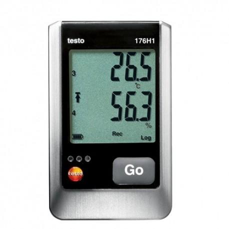 Testo 176 H1 - 4-kanálový záznamník teploty a vlhkosti