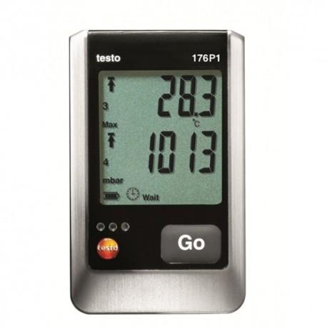Testo 176 P1 - 5-kanálový záznamník teploty, vlhkosti a absolutního tlaku