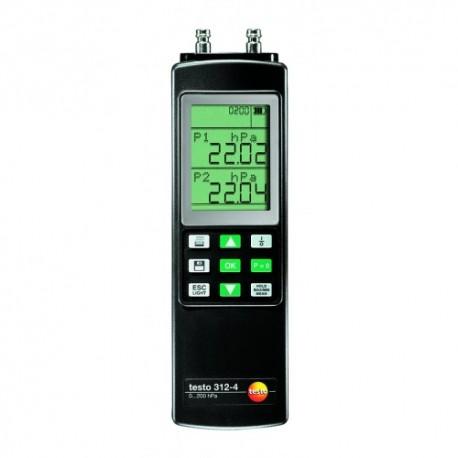 Testo 312-4 - diferenční tlakoměr sada