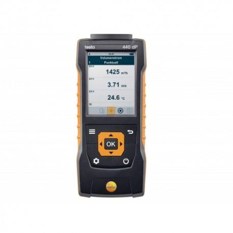 Testo 440 dP - Přístroj pro měření klimatických veličin vč. diferenčního tlaku