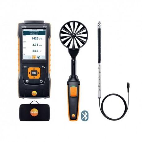 Testo 440 - Kombinovaná sada 2 pro měření proudění s BT