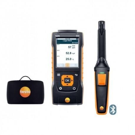 Testo 440 - Sada pro měření CO2 s BT