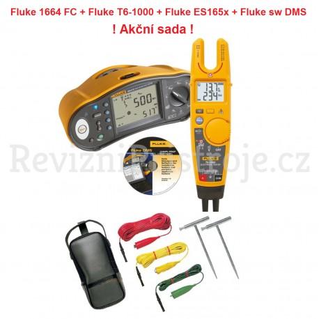 Fluke 1664 FC + Fluke T6-1000 + sada ES 165x + SW DMS - ! Akční sada !