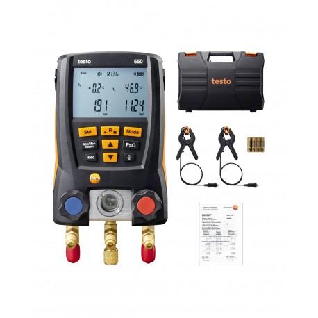 Testo 550 Sada - Digitální servisní přístroj