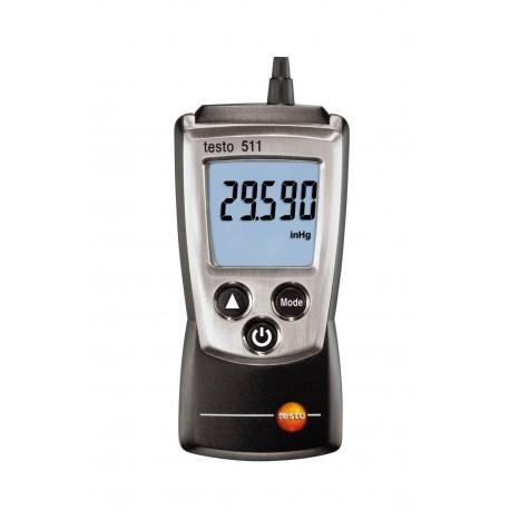 Testo 511 - Přístroj pro měření absolutního tlaku v kapesním formátu