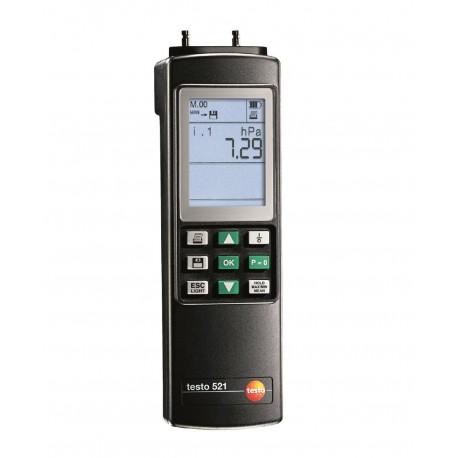 Testo 521-2 - Diferenční tlakoměr (0,1 % z konečné hodnoty)