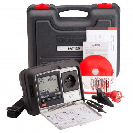 Megger PAT120 - tester el. spotřebičů a el. nářadí