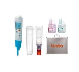 Testo 206-pH2 Sada - pH metr / teploměr pro polotuhá média
