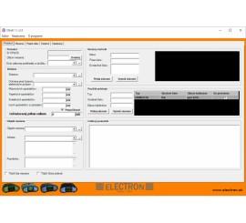 Electron Elsoft 1.1 - software pro měřicí přístroje UNIMER