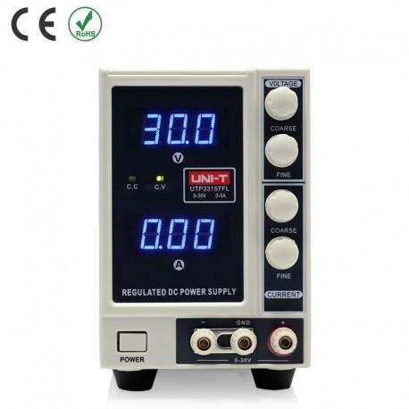 UNI-T UTP3315TFL 0-30V/ 0-5A - Laboratorní zdroj