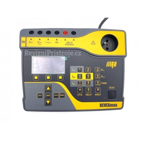 REVEX max Weld - tester elektrických spotřebičů a svářeček