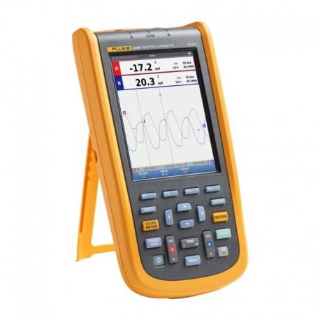 Fluke 124B/EU - Průmyslový digitální osciloskop a multimetr (40 MHz)