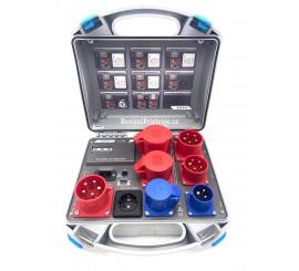 Metrel A1322 - aktivní třífázový adaptér - standardní nastavení