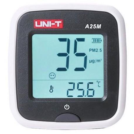 Měřič kvality vzduchu UNI-T A25M