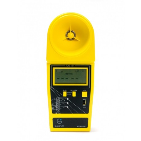 Suparule 600 - měření výšky vzdušných kabelů a neizolovaných vodičů