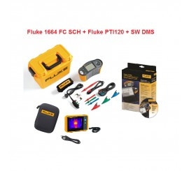 Fluke 1664 + ZDARMA Fluke PTI120 + ZDARMA Sofware