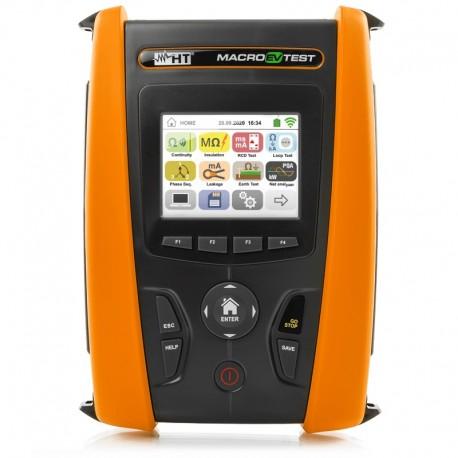 HT Instruments MACROEVTEST - Přístroj pro kontrolu dobíjecích stanic elektrických vozidel a revize instalací