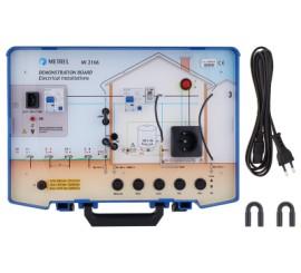 Metrel MI 2166 - demonstrační panel