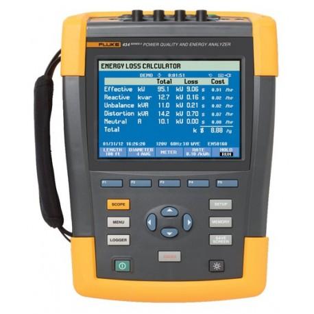 Fluke 434-II - analyzátor kvality sítě