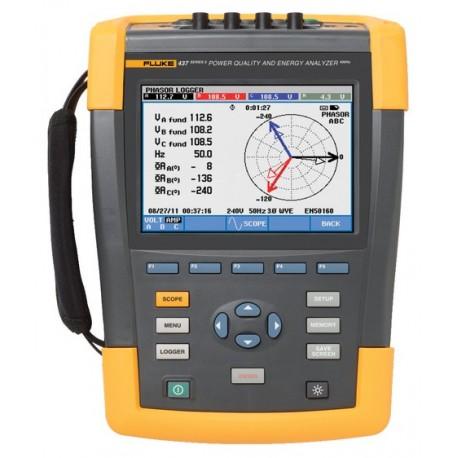 Fluke 437-II - analyzátor kvality sítě